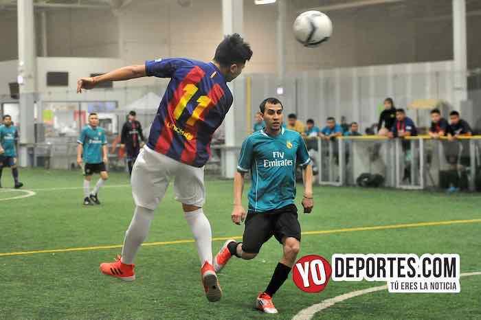 Barza-Universal-Liga San Francisco-Martes Indoor Soccer