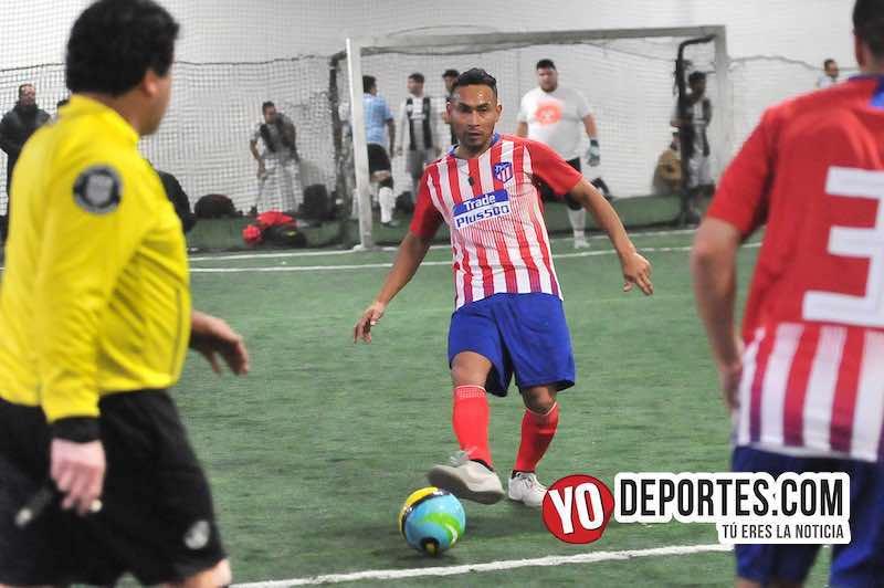 Becerritos-Las Palmas-Liga Taximaroa Martes Futbol Indoor