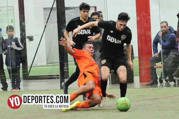 Boca Jr-Red Fire-Champions-Liga Latinoamericana Futbol Indoor