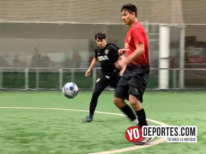 Boca Jr-Zapopan-Champions de los Martes-Liga San Francisco Chicago Indoor Soccer