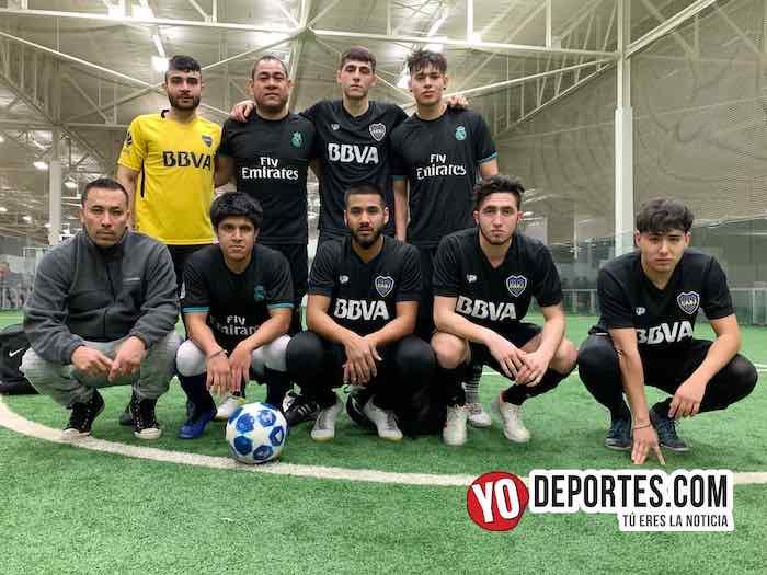 Boca Jr super lider invicto-Champions de los Martes-Liga San Francisco