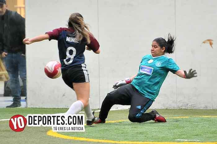 Chicago Elite-Deportivo Monaco-Liga 5 de Mayo Mujeres Futbolistas