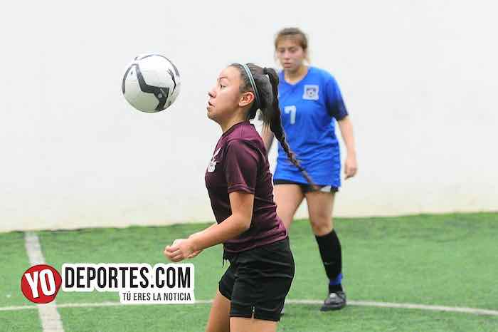 Chicago Real FC-Champs-Copa Rosada-Liga San Francisco Femenil Indoor Futbol