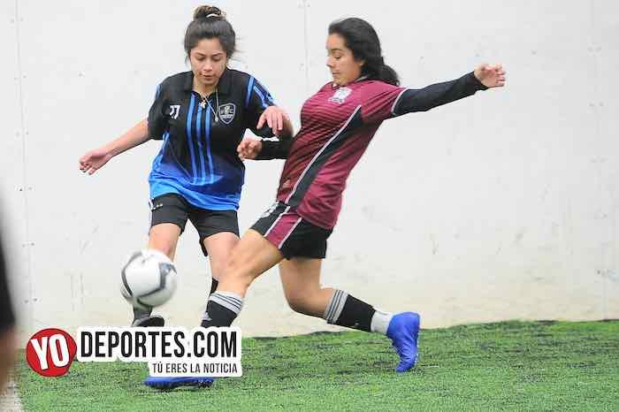 Chicago Real FC-Champs-Copa Rosada-Liga San Francisco Femenil Mujeres Futbol Indoor
