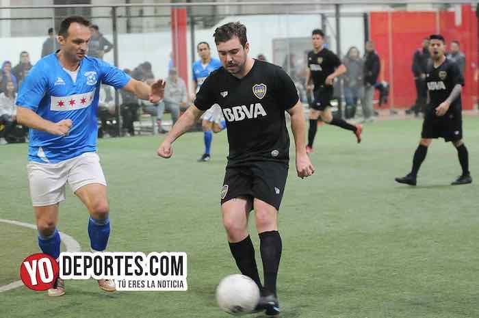 Chicago Soccer-Boca Jr-Champions Liga Latinoamericana Futbol