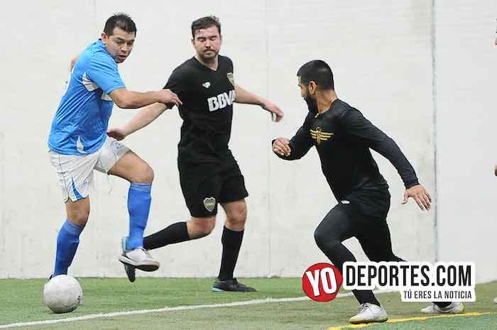 Chicago Soccer-Boca Jr-Champions Liga Latinoamericana Gabriel Corona Tinieblas