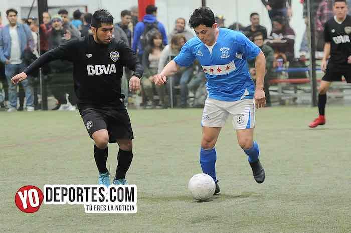 Chicago Soccer-Boca Jr-Champions Liga Latinoamericana Indoor Futbol