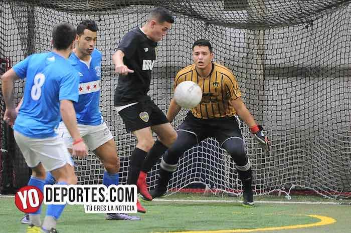 Chicago Soccer-Boca Jr-Champions Liga Latinoamericana Indoor Soccer