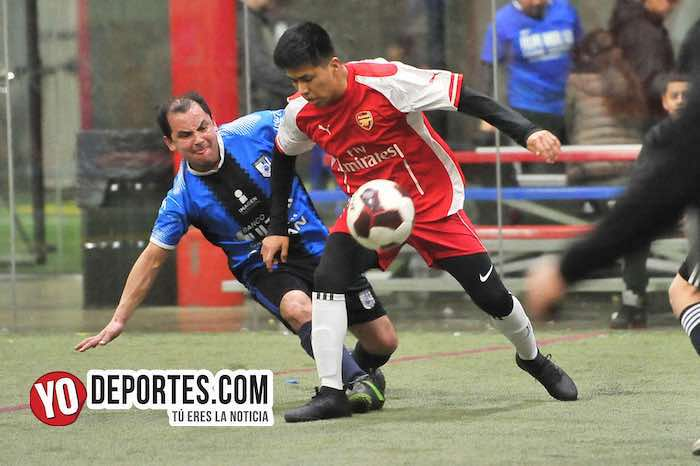 Deportivo 57-Chicago FC-Liga 5 de Mayo Soccer League Indoor Futbol
