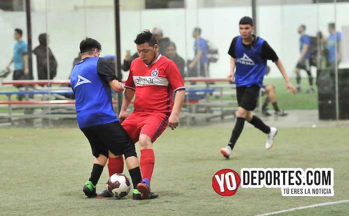 Deportivo 57-Chicago FC-Liga 5 de Mayo Soccer League Indoor