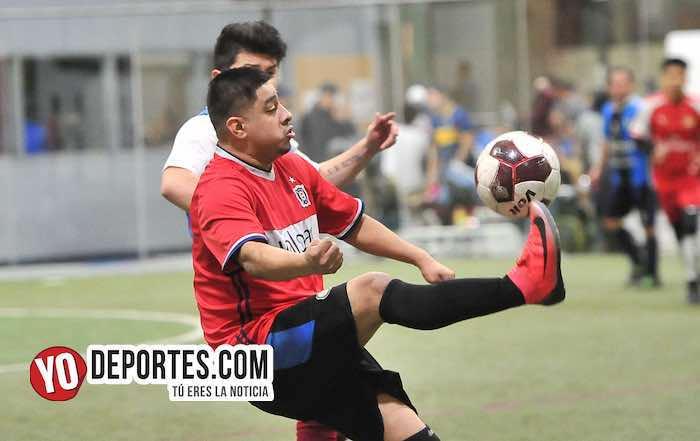 Deportivo 57-Chicago FC-Liga 5 de Mayo de Futbol Indoor