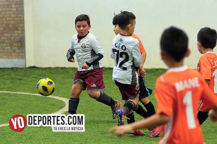 Deportivo 59-Blazers-Liga Douglas Kids Futbol INfantil