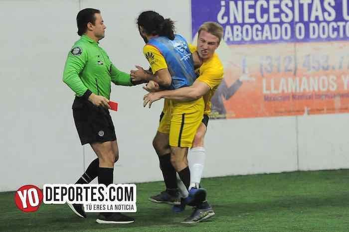 Derek Hufman-Arbitro Carlos de Luna-Angel Curiel-Iguala-Boca Jr-Chitown Futbol-Veteranos