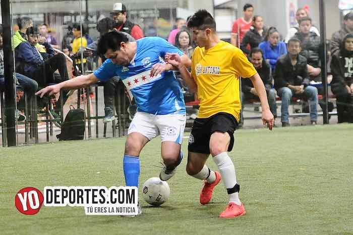 Chicago Soccer no pudo con el líder San Antonio en la Champions de la Liga Latinoamericana