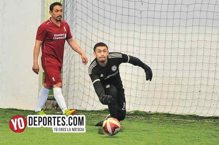 Galeana-Dc Victoria-Liga Douglas Chicago Soccer