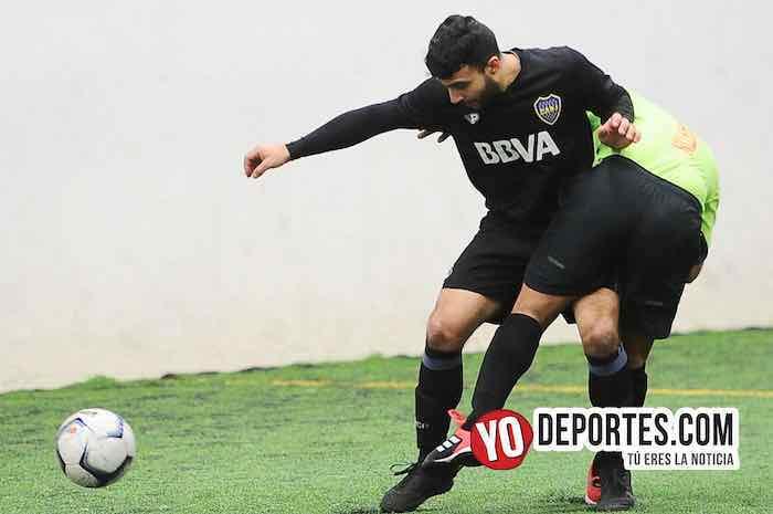 Hugo Godoy-Boca Jr-Muchos Nachos-Champions de los Martes-Liga San Francisco
