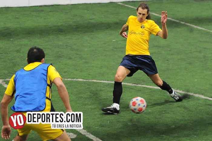 Iguala-Boca Jr-Chitown Futbol-Veteranos juego de vuelta