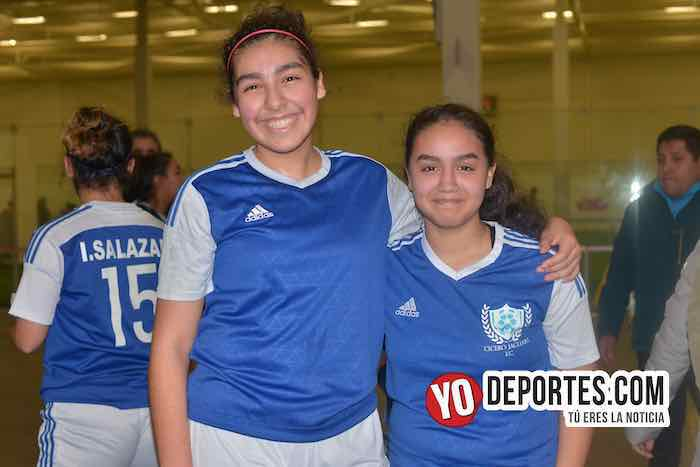 Jocelyn Rivera-Cindy Montoya-Cicero Jaguars-Liga San Francisco