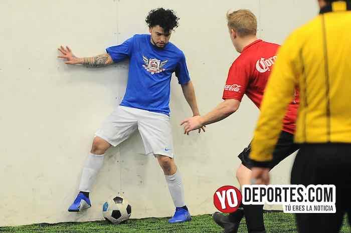 Josue Alvarado-DC Victoria-Gallos Rojos-Semifinal Torneo Corto Liga Douglas