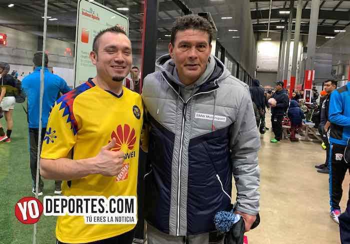 Juan Che Che Hernandez fanaticos La Academia de Futbol-Liga Latinoamericana en Chicago