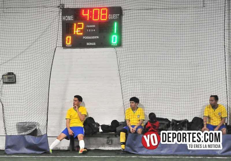 Juanacatlan FC-Club Pachuca-Liga Taximaroa Martes Futsal