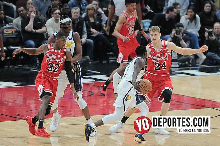 Lauri Markkanen-Chicago Bulls-Indiana Pacers-United Center NBA