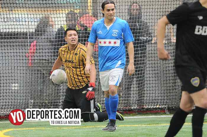 Luis El Negro Sandoval-Bato Redoncic-Chicago Soccer-Boca Jr-Champions Liga Latinoamericana