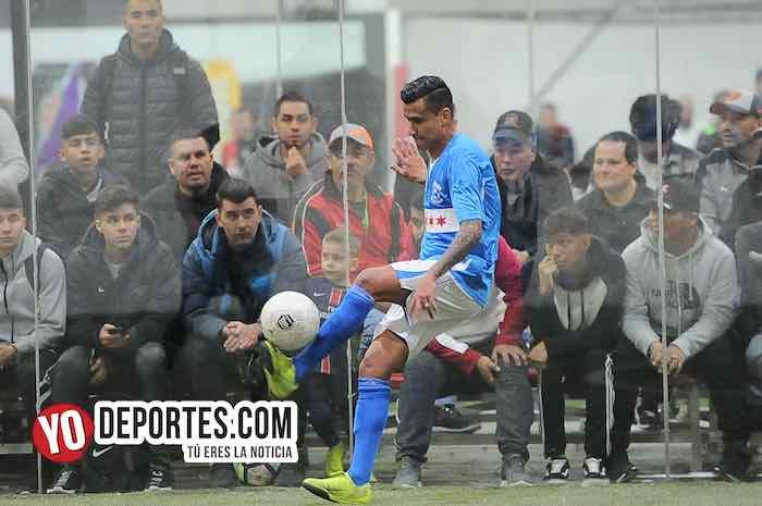 Luis El Negro Sandoval-Chicago Soccer-Boca Jr-Champions Liga Latinoamericana