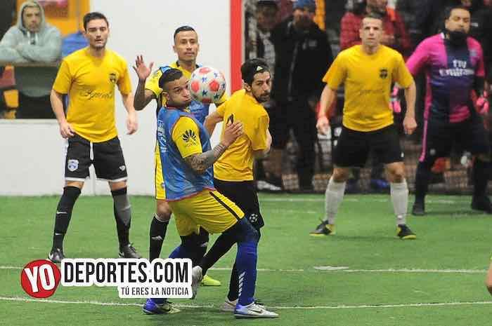 Luis El Negro Sandoval-Iguala-Boca Jr-Chitown Futbol cuartos de final
