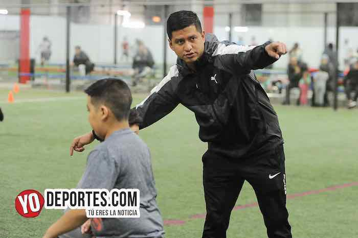 Luis Perez preparador fisico-La Academia de Futbol-Liga Latinoamericana