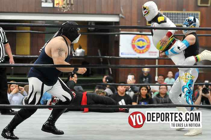 Mascarita Sagrada-Octagoncito-Vengador del Futuro-Destructor Jr Eagles Club Berwyn