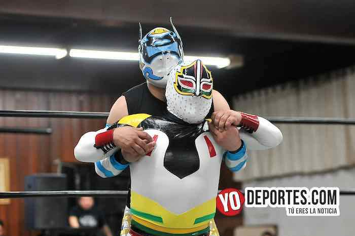 Mascarita Sagrada-Octagoncito-Vengador del Futuro-Destructor Jr Eagles Club
