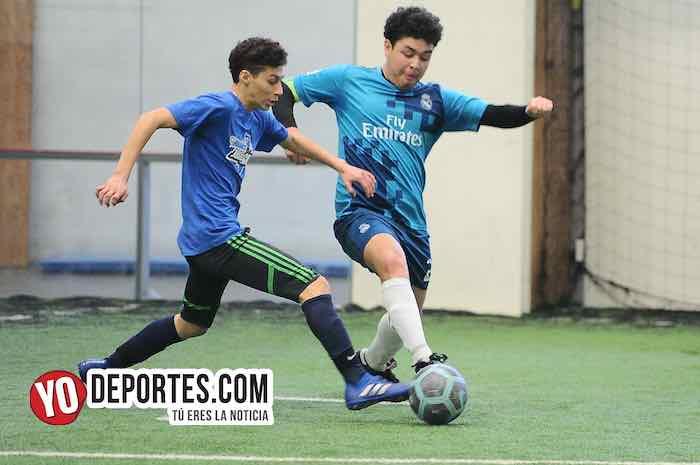 Real Madrid-Cicero United-Liga San Francisco Kids Futbol Indoor