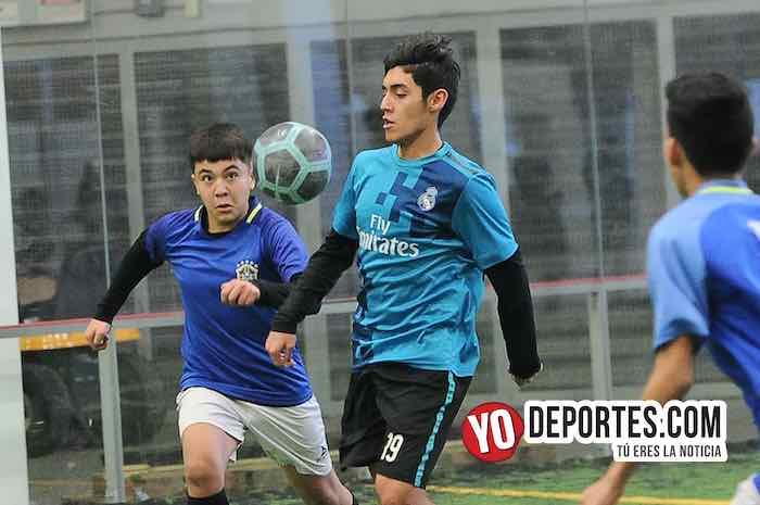 Real Madrid-Cicero United-Liga San Francisco Kids Indoor