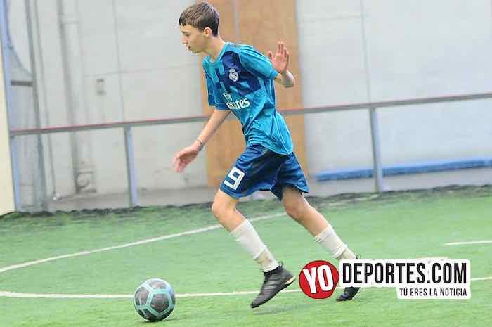 Real Madrid-Cicero United-Liga San Francisco Kids