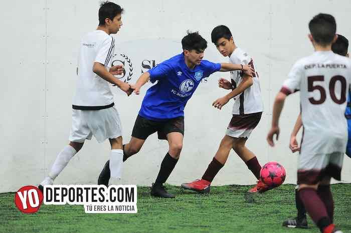 Real Sociedad-Deportivo La Puerta-Liga San Francisco Kids Chicago Soccer Indoor