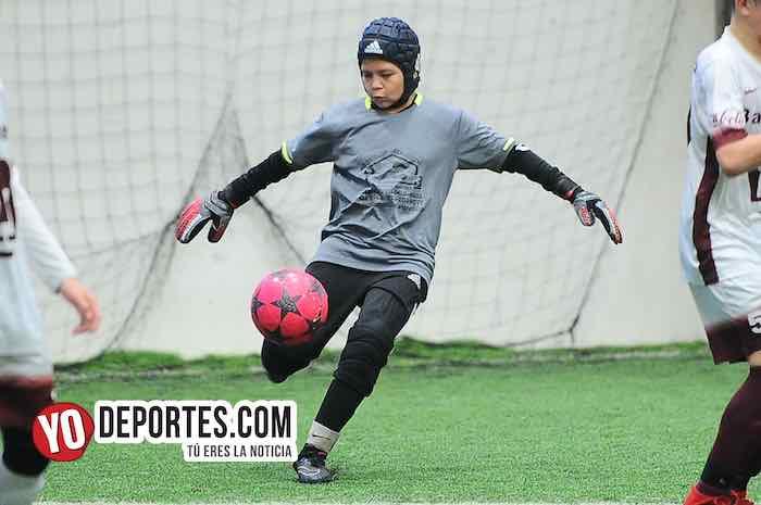 Real Sociedad-Deportivo La Puerta-Liga San Francisco Kids Futbol portero