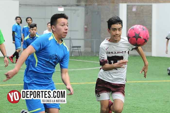 Real Sociedad 3-2 al Deportivo La Puerta en la Liga San Francisco Kids