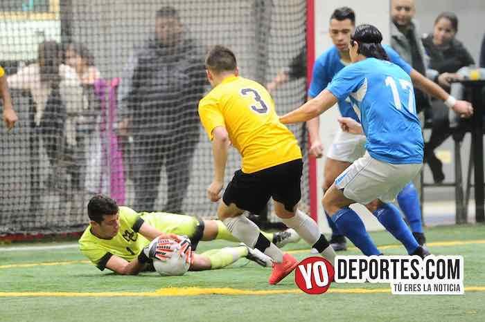 San Antonio-Chicago Soccer-Champions Liga Latinoamericana Chicago Indoor Sports