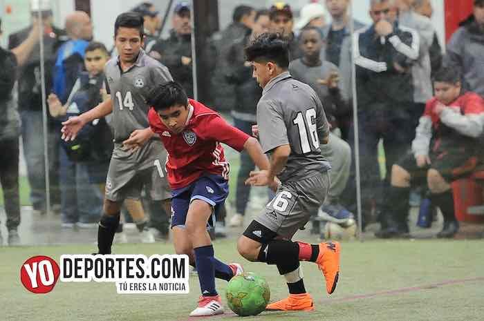 San Antonio-Imperio-Champions Kids-Liga Latinoamericana Futbol Indoor