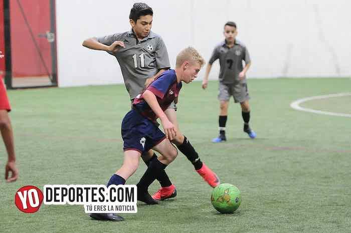 San Antonio-Imperio-Champions Kids-Liga Latinoamericana Indoor Soccer