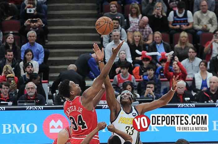 Pacers de Indiana arrebatan triunfo a los Bulls en tiempo extra