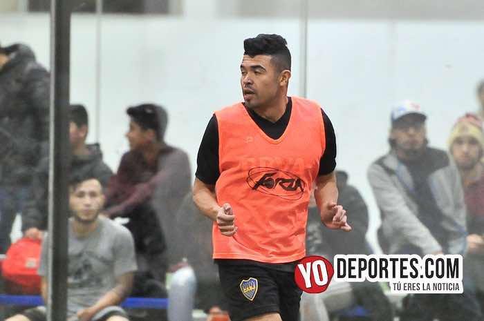Xavier Yepez-Boca Jr-Valencia-Champions Liga Latinoamericana