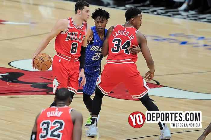 Zach LaVine-Wes Iwundu-Wendell Carter Jr-Chicago Bulls-Orlando Magic