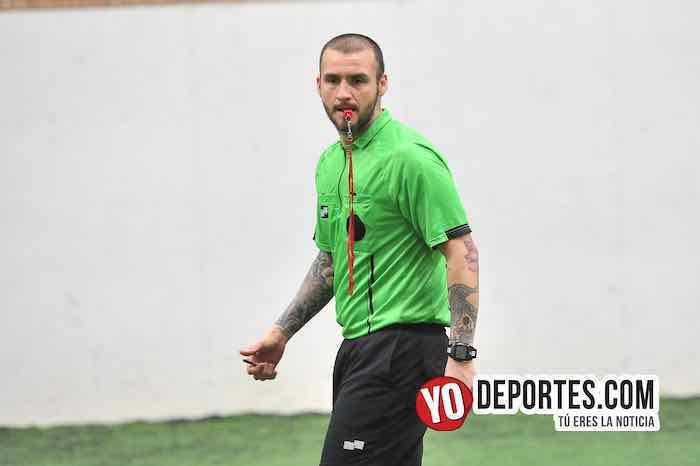 Arbitro Eder Patino-La Puerta-Pumas-Copa Gatorade Liga San Francisco