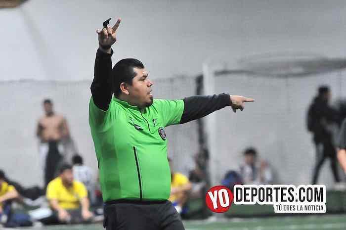 Arbitro Hector Cardenas-Lobos Templarios-Jerahuaro-Liga Taximaroa martes