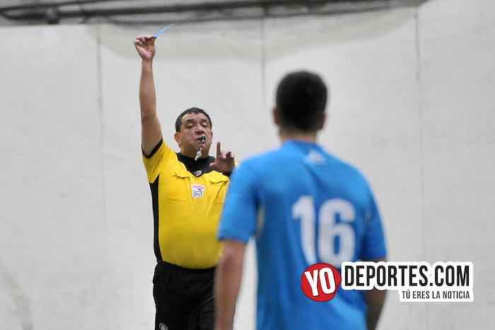Arbitro Juan Jaramillo-Chicago Soccer-Valencia-Champions Liga Latinoamericana