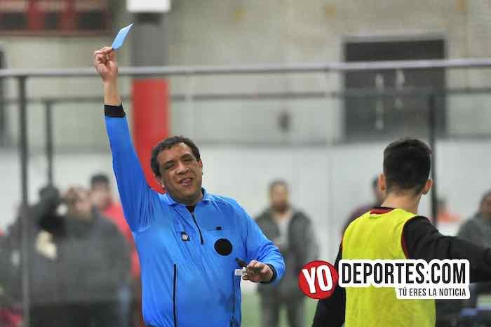 Arbitro Juan Jaramillo-La Joya-Deportivo Guerrero-Chamoions Jrs Liga Latinoamericana