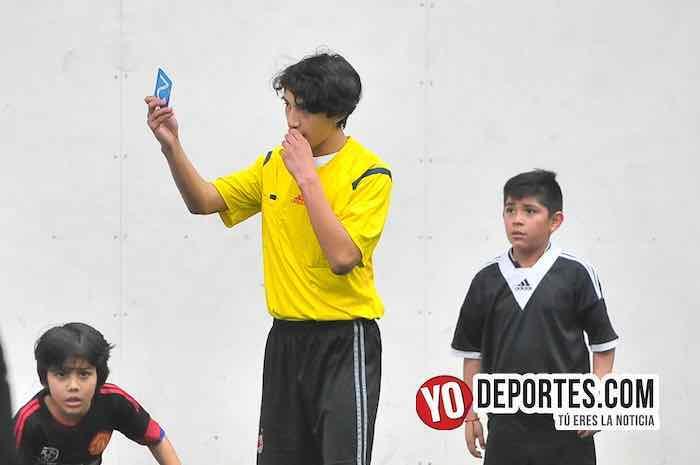 Arbitro Manchester-Atlante-Liga Douglas
