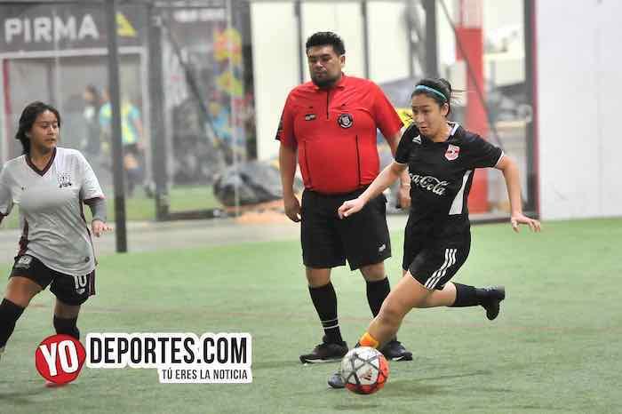 Arbitro Miguel Gutierrez-Chicago Real FC-Fenix FC-AKD Soccer League